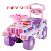 MAINAN MOBIL DUDUK BARBIE/ MOBIL DORONG BARBIE/ RIDE ON CAR/SHP BJ 597