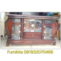 RAK TV BUPET TV BUFFET TV KRISTAL UK 160 CM