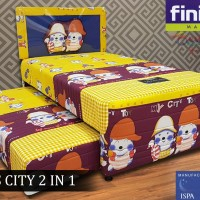 Kasur Finiland Spring Bed Anak 2in1 Season TOY CITY 100x200cm