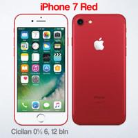 Jual [iP7] iPhone 7 128GB RED Garansi Apple 1 Tahun Murah