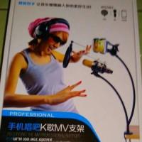 Paket SING SONG SMULE Condenser BM-800 Fleksibel Mic stand BM-800