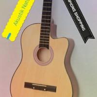 Jual Gitar Akustik Beginner + Softcase/Tas Murah