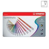 STABILO CarbOthello Set of 36 Metal Box