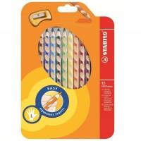 Stabilo Easycolors, Wallet 12's (left-handed)