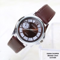 Jam tangan guess kulit leather unisex wanita/pria fossil import chan