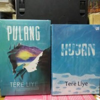 novel Pulang & Hujan Tere liye/1 set 2 buku/580hal.