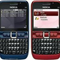 Handphone Jadul Nokia e63 Keren (bukan Samsung) Refurbish