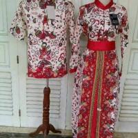 Harga couple muslim couple gamis sarimbit batik baju couple   antitipu.com