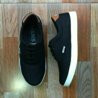 Jual Sepatu sport Vans clasic new black Murah