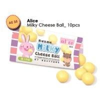AE35 Alice Milky Cheese Ball Snack Keju