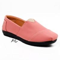 Jual Sepatu Flat Shoes Flatshoes Murah ala Toms / Wakai - Salem Murah