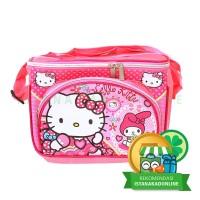 Tas Anak Tempat Makan Susu dan Piknik Hello Kitty