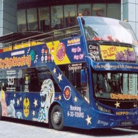Hop-on Hop-off Bus Tour Singapore dewasa