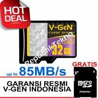 Micro SD VGEN 32GB Class 10 V-Gen microSD HC 32 GB Turbo