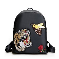 Tas Backpack Ransel Anak Kuliah Sekolah Black Hitam Import Fashion