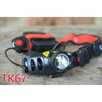 Senter Kepala Headlamp TK 67