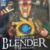 THE MAGIC OF BLENDER 3D MODELLING + DVD (37 TUTORIAL)