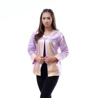 Jual atasan batik wanita / bolero batik lengan panjang / blazer batik xxl Murah
