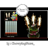 Lilin Ulang Tahun Air Mancur /Lilin Air Mancur Sparkling / Pyro Candle