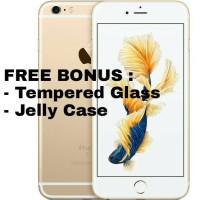 Jual FREE BONUS NEW Timer 00 iPhone 6S 32GB / 32 GB Gold Inter 1 Tahun Murah