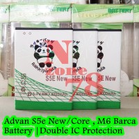 Baterai Advan M6 Barca S5E New S5E Core BP50aa Double IC Protection