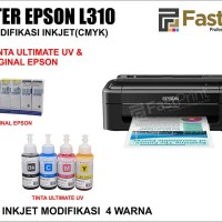 Printer Epson L310 Plus Tinta Epson L Series & Tinta Epson Original