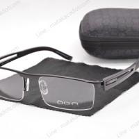 Frame Kacamata Minus Premium OGA 67081 Hitam