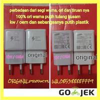 charger samsung grand j5 j7 prime 2 s4 s5 fast charging original gojek