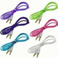 Kabel AUX Jack 1 in 1 3.5mm HP Android Samsung Asus Speaker 1in1