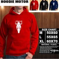 Sweater/Hoodie Motor YAMAHA MAJESTY SILUET TD/Hoodie Otomotif/Jaket