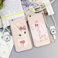 harga Casing Iphone 6/6s Plus Tpu Softcase - Giraffe & Bunny Tokopedia.com
