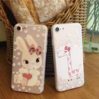 harga Casing Iphone 7 Tpu Softcase - Giraffe & Bunny Tokopedia.com