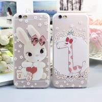 harga Casing Iphone 6/6s Tpu Softcase - Giraffe & Bunny Tokopedia.com