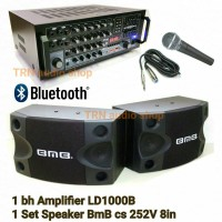 Paket Sound Karaoke LD1000B + Speaker BMB CS 252v 8in