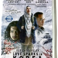 DVD Original Jilbab Traveler: Love Sparks In Korea (With Case)