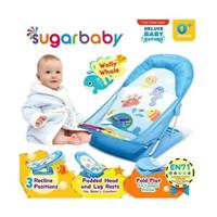Sugar Baby Bather Blue - Alat Bantu Bayi Mandi / Kursi Mandi Bayi Biru