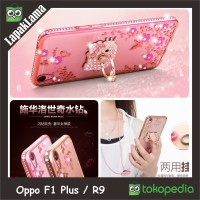 Jual NOBLECASE OPPO F1 PLUS SWAROVSKI RING DIAMOND OPPO F1 PLUS R9 SOFTCASE Murah