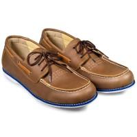 Sepatu Moccasin Pria - Moccasin Lace Up - Sepatu Bandung BENZ