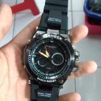 NEW g shock mtg s1000 tali rubber black hitam jam tangan pria tahan ai