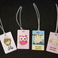 Jual bag tag custom 2 sisi Murah
