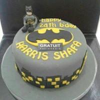 FONDANT CAKE BATMAN UK.15
