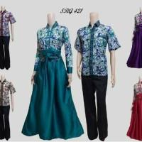 baju batik sarimbit gamis 421