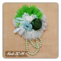 Bros Jilbab / Bros Hijab / Handmade Brooch Flower harga 35 K