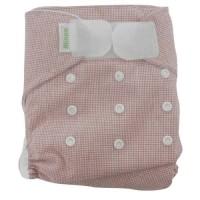 Minoo Cloth Diapers - Tartan Red
