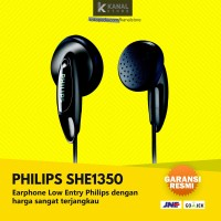 Philips SHE1350 Black Original Earphone | Bass Headphone & Headset