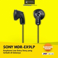 Jual Sony MDR EX9LP Black Original Earphone | Bass In Ear Headphone Murah
