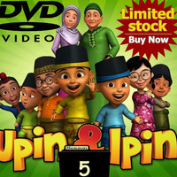 Video Film Kartun Edukasi Upin & Ipin 42 Episode Season 5 DVD Video