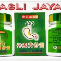 Vall-Boon 606 Antacid Tablet - Obat Maag,Nyeri & Asam Lambung Herbal