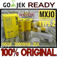 Jual 100% ORIGINAL MXJO 18650 3000 mAh ( battery Vape Batere Vapor Murah