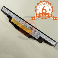 Baterai ORIGINAL Lenovo Ideapad Y400 Y410 Y500 Y510 L11S6R01 - Black